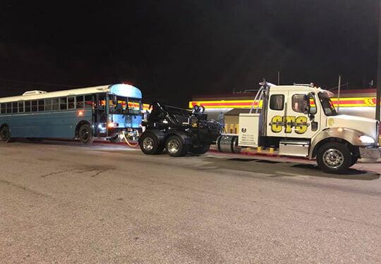 Austin Bus Towing